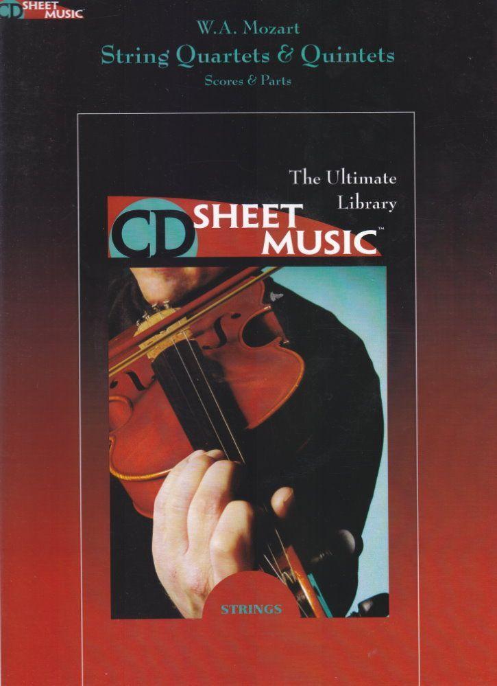 Noten STREICHQUARTETTE &  QUINTETTE Mozart HL 220545