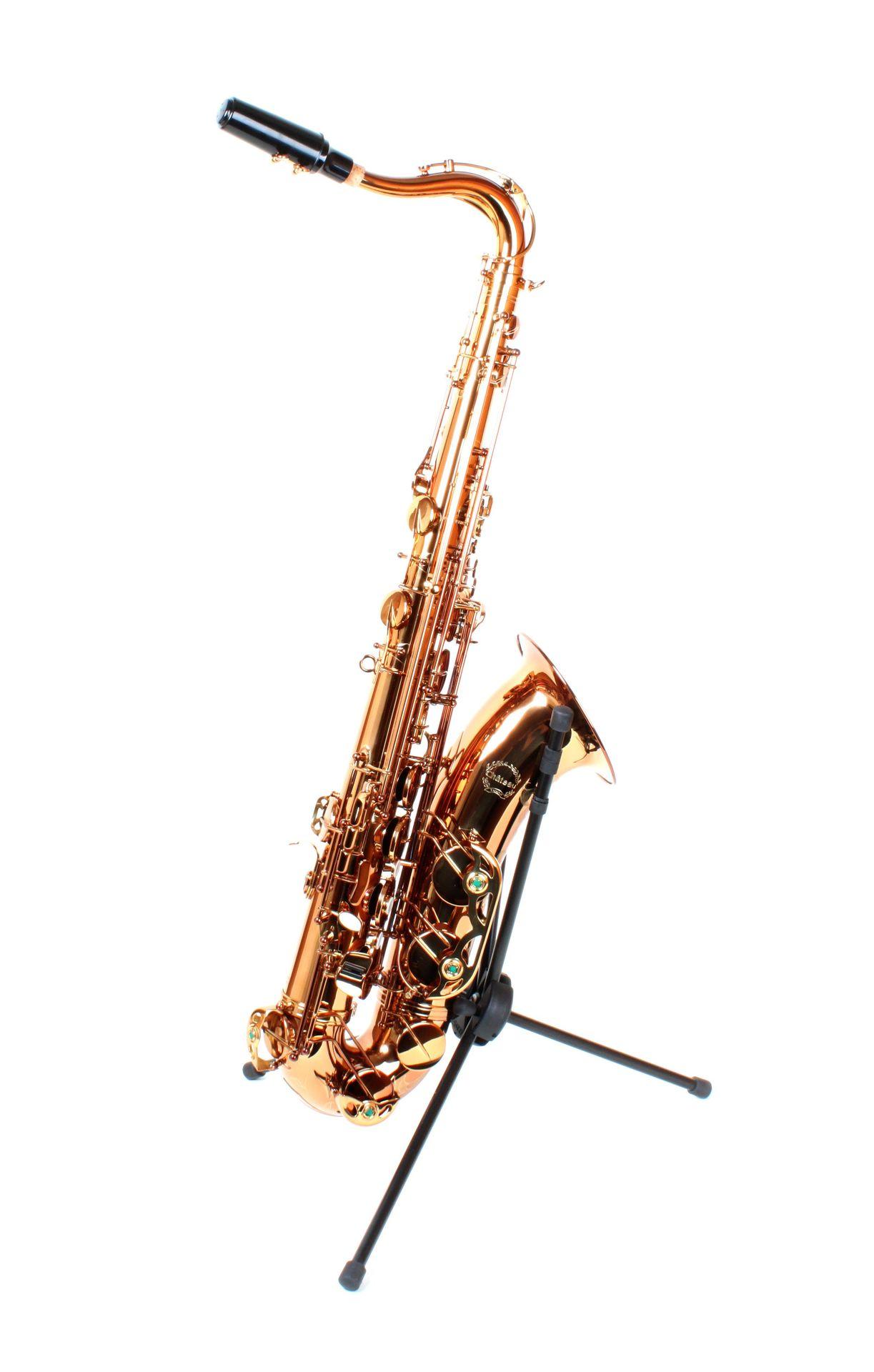 Chateau Tenorsaxophon CTS50/19, Powerbell Schallstück, dunkler Goldlack,