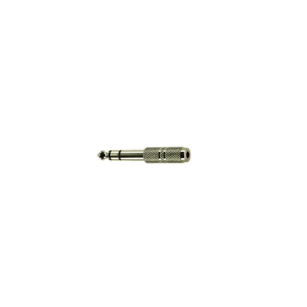 Festadapter 6,3mm Stereoklinkenstecker  3,5mm Stereoklinkenbuchse