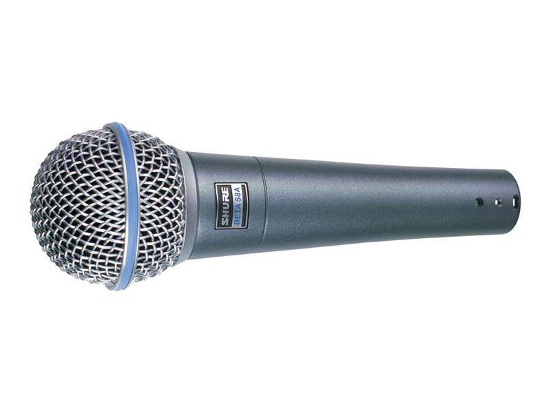 Shure Beta 58A Gesangsmikrofon, dynamisch, Superniere