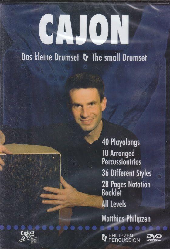 DVD CAJON Matthias Philipzen umfasst Grundlagen & Styles