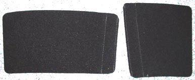 Handschutz / Griffschutz für Bariton, einfache Montage durch Klettverschluss