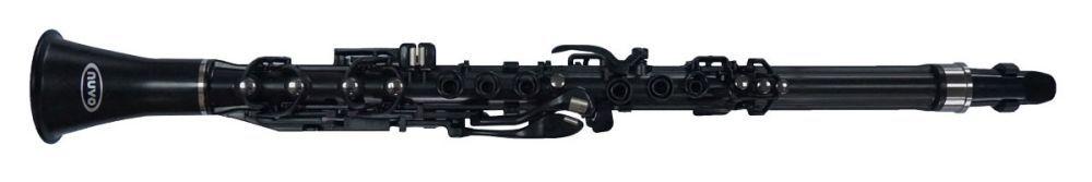 Kinderklarinette NUVO NU-CL120BGBK 2.0 schwarz Clarineo,Klarinette f.Kinder ab 4