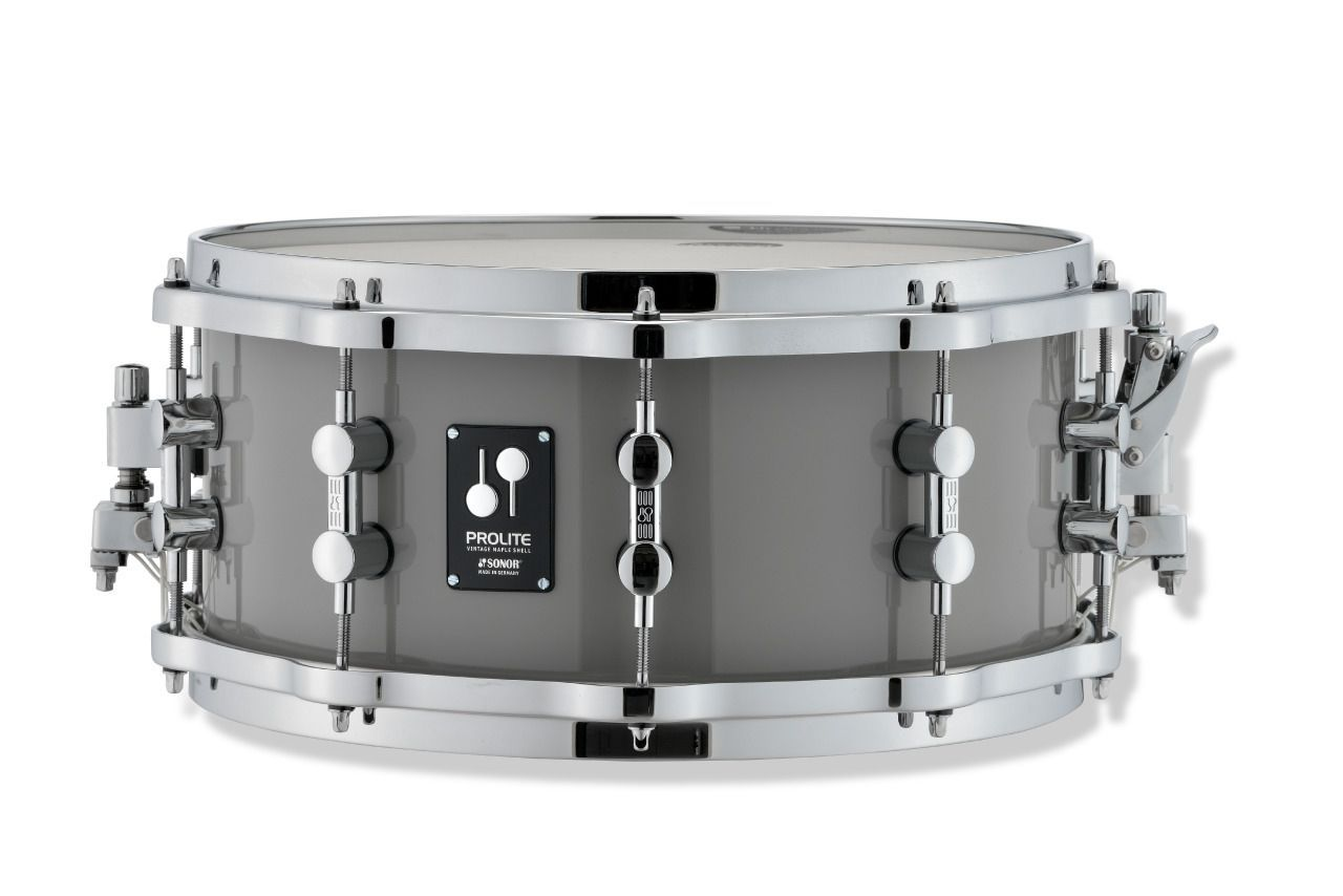 Sonor Prolite Snare 14x6,5 Limited Edition Solid Lite Grey