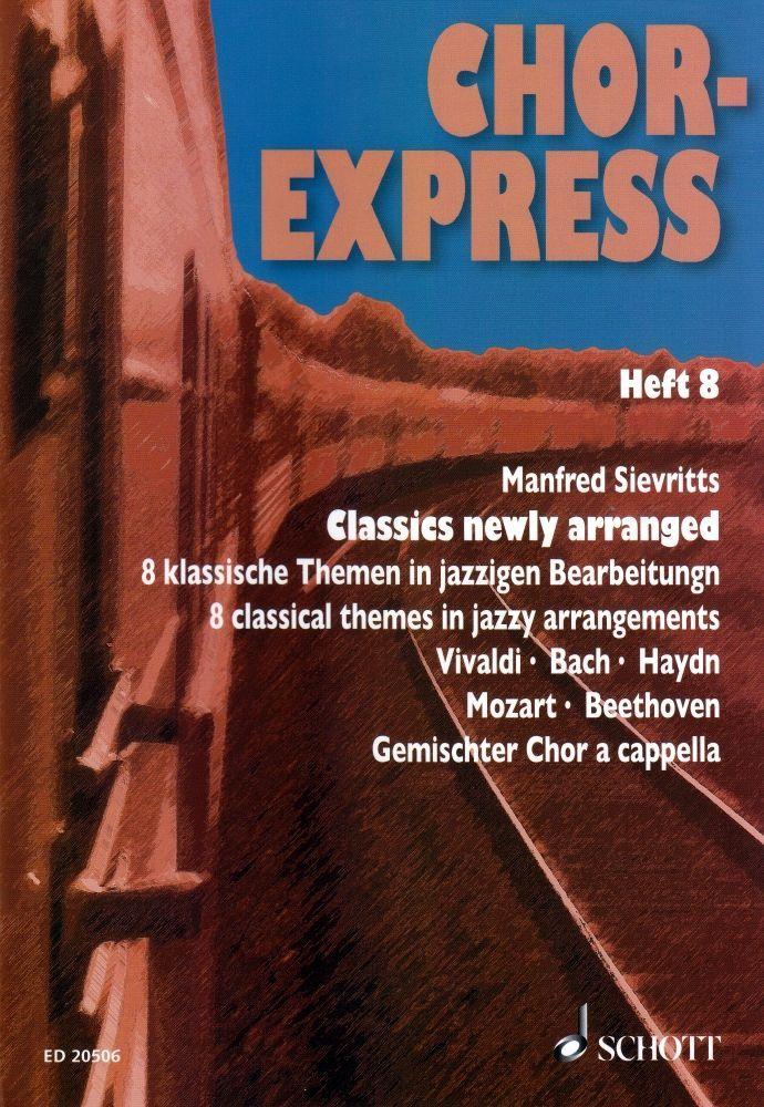 Noten Chor Express 8 - classics new arranged ED 20506 gemischter Chor (SATB)