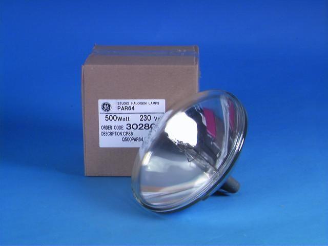General Electric GE CP86 240V/500W VNSP Glühbirne für Lampe PAR 64