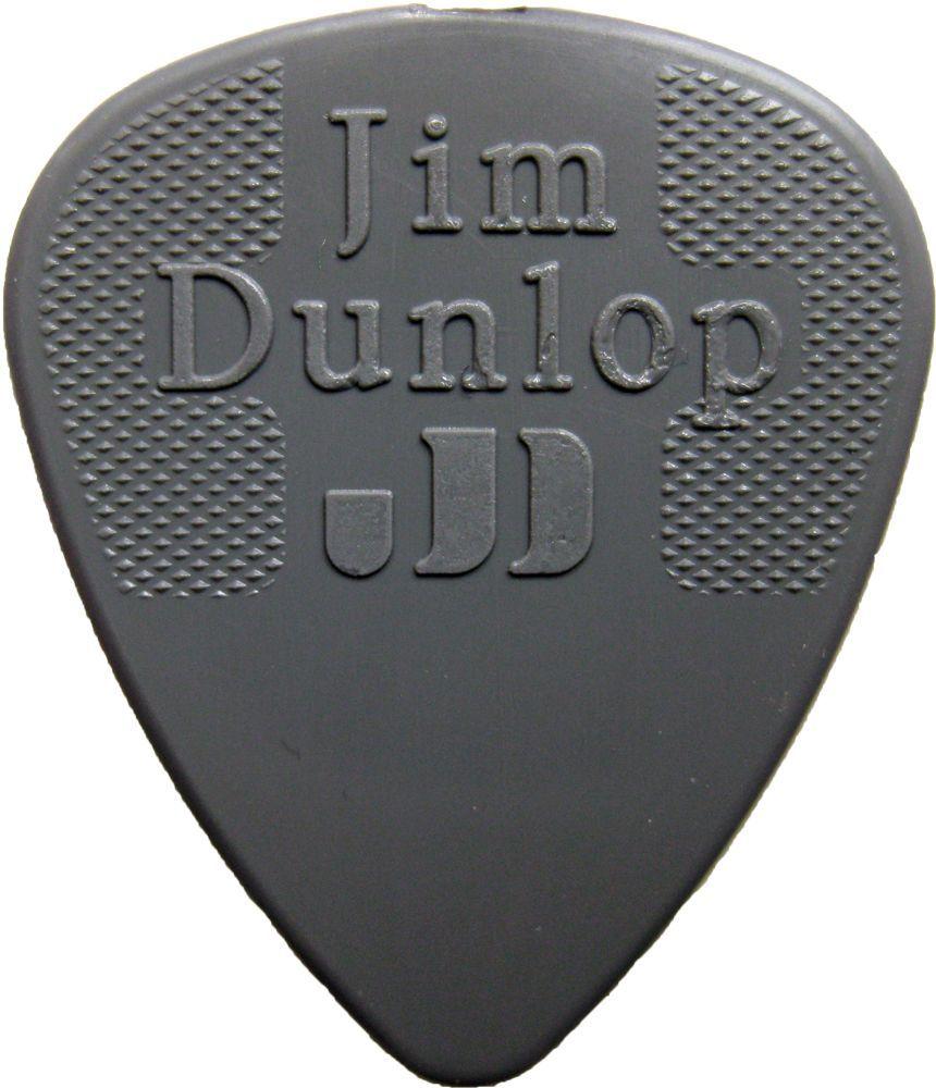 Jim Dunlop Nylon Pick 0,60 mm Light Grey Plektrum für Gitarre
