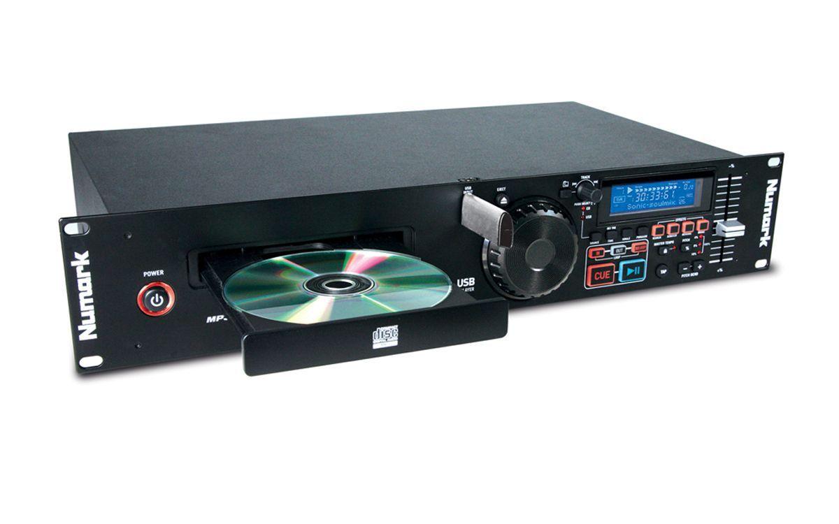 "Numark MP 103 USB, MP3/CD-Player, Antishock, Pitchcontrol, Jogwheel, 19"", 2HE"