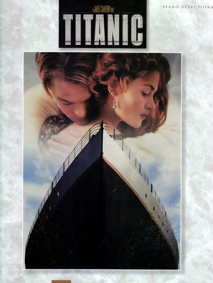 Noten Titanic Piano Klavier selections Hal Leonard 313098 mittelschwer gesetzt