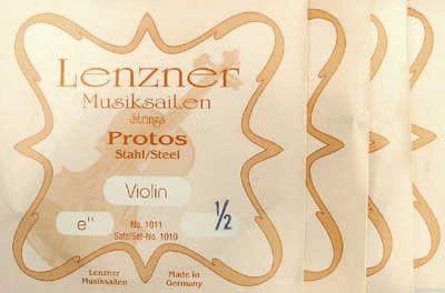 Lenzner Violine Saiten Protos Violine 1/2 Satz Stahl