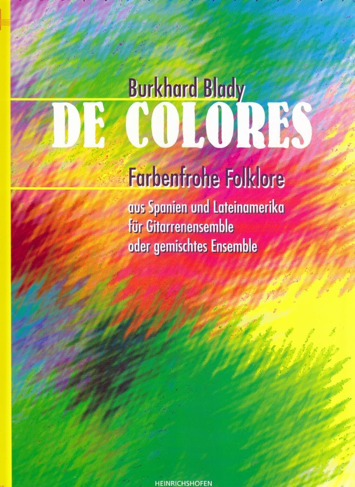 Noten De colores Heinrichshofen N 2476 Blady Burkhard Ensemble