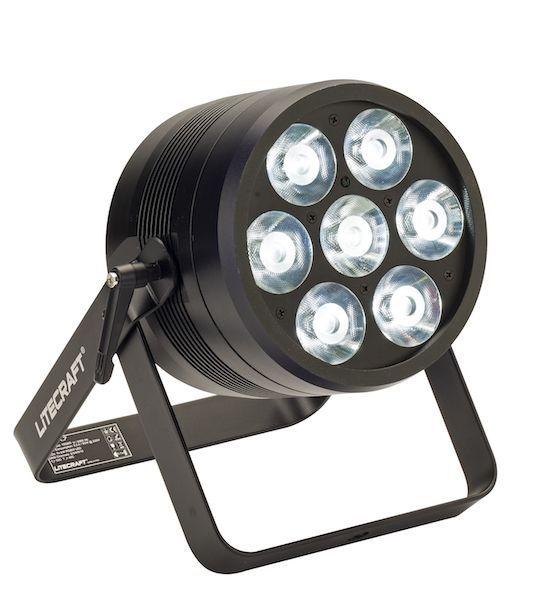 Litecraft BeamX.7 RGBW LED Scheinwerfer mit Konverktionskühlung