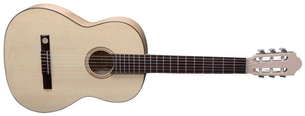 Pro Natura Silver Ahorn Konzertgitarre in 4/4 Größe
