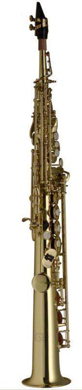 SWING S-201 B-Sopransaxophon lackiert, japan.Modell, incl. Etui u. Zubehör