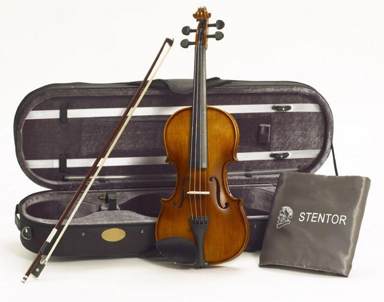 Stentor Violine Graduate 4/4 SR-1542A  Garnitur mit Koffer u. Bogen