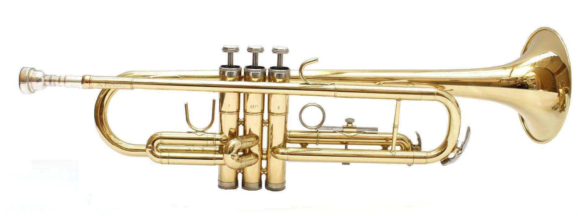 SWING TR-201 B-Trompete lackiert, Bohrung 11,66mm, incl.Etui u. Zubehör
