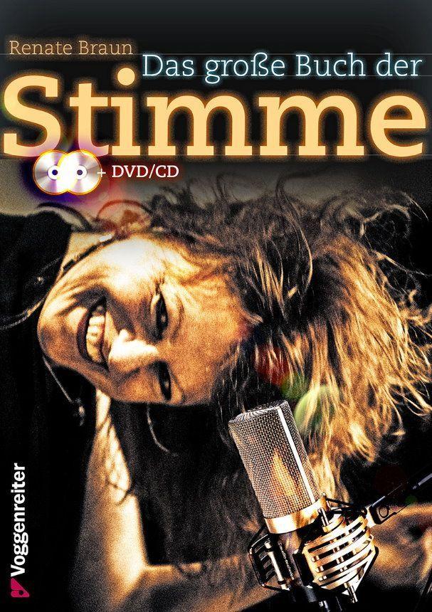 Noten Das große Buch der Stimme Renate Braun Voggenreiter 1034-5 incl. CD & DVD