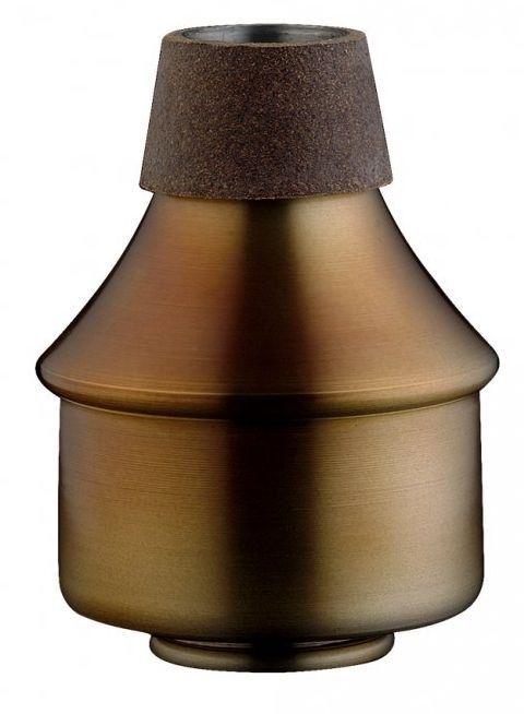Vintage Wah Wah- Dämpfer Trompete Aluminium / Kork /  MTR-W3AV