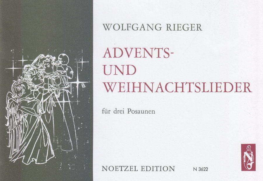 Noten  Advents- & Weihnachtslieder für 3 Posaunen Wolfgang Rieger Noetzel N 3622