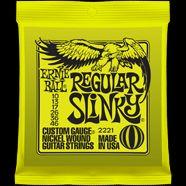 Ernie Ball EB-2221 E-Gitarren Saiten Regular Slinky .010-.046