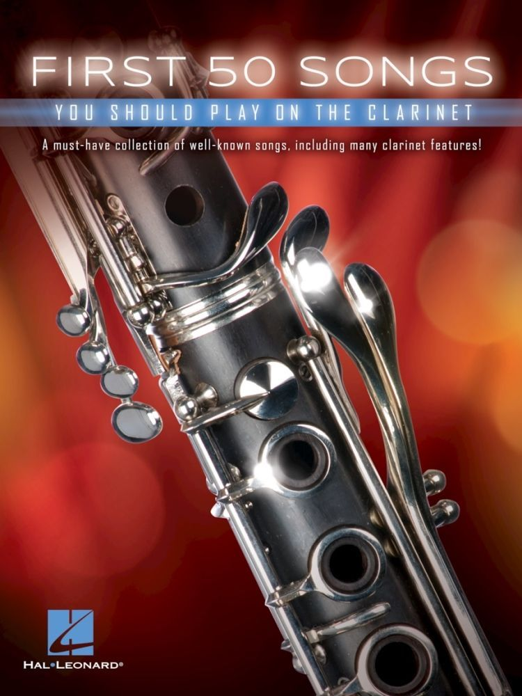 Noten First 50 Songs You Should Play on the Clarinet HL 00248844