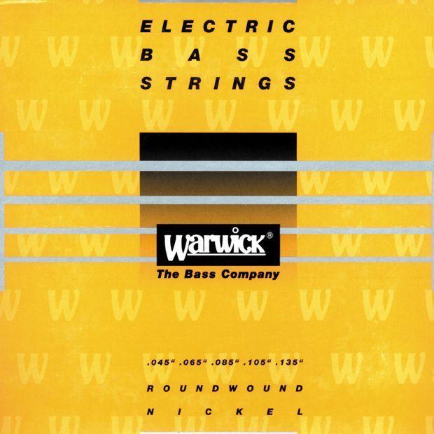 Warwick Yellow Nickel E-Bass Saiten,5 Strings 045-135