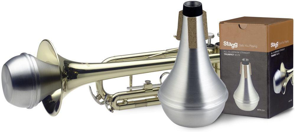 Dämpfer Trompete Straight Aluminium / Spitzdämpfer - Orchester/Big Band