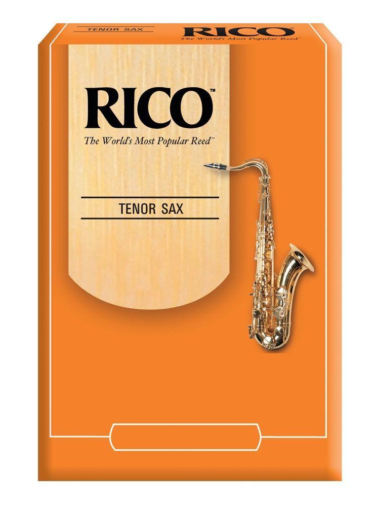 Daddario WoodWinds Rico Tenorsaxophon 2,5 unfiled, das RICO Standard Blatt