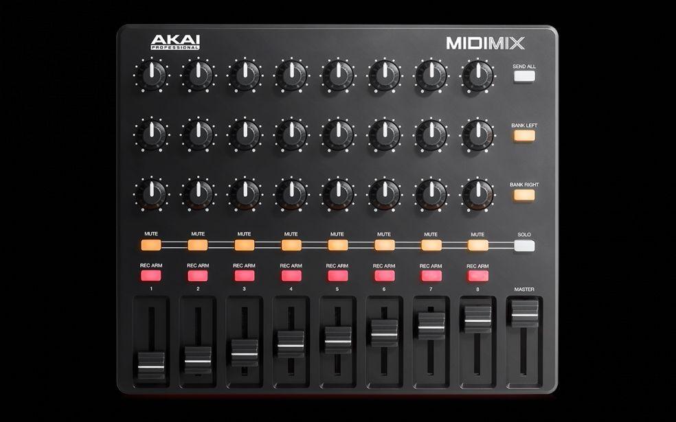 AKAI Midimix DAW Controller tragbarer High-Performance Mixer