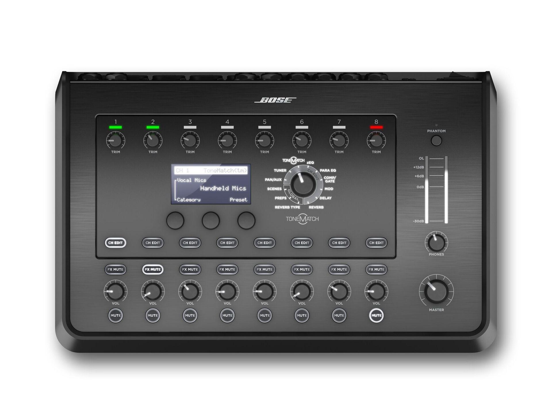 Bose T8S ToneMatch Mixer 8 Kanal Digital-Stereo-Mischpult