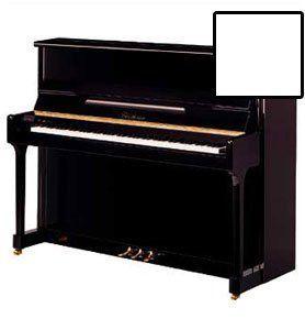 Blüthner Modell C Klavier, 118 cm, weiß poliert