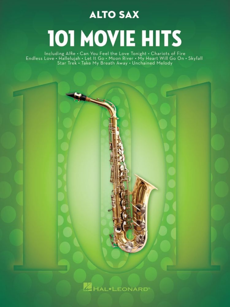 Noten 101 Movie Hits for Altsax HL 00158089