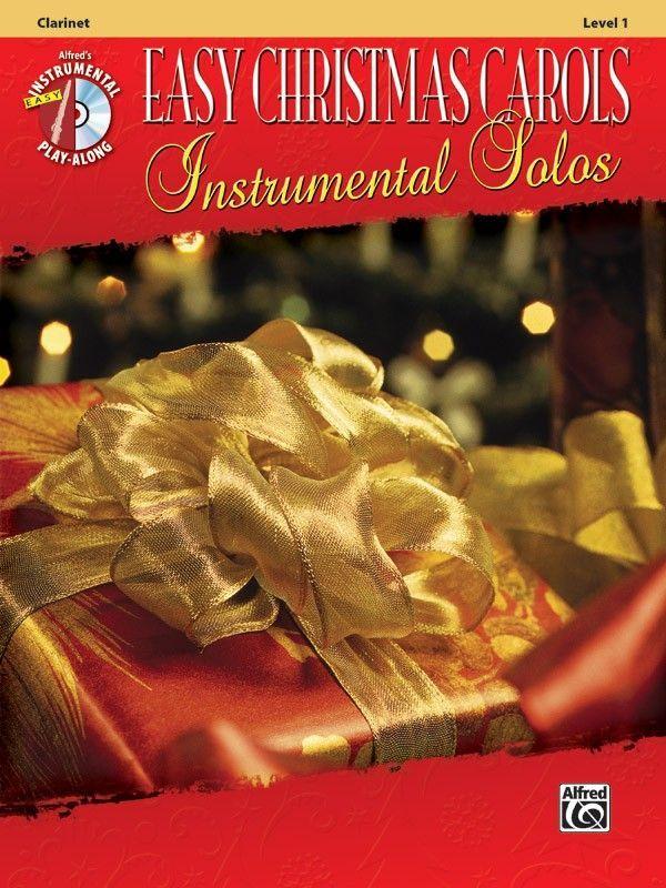 Noten Easy Christmas Carols incl. CD Klarinette Alfred 38751 Weihnachtslieder