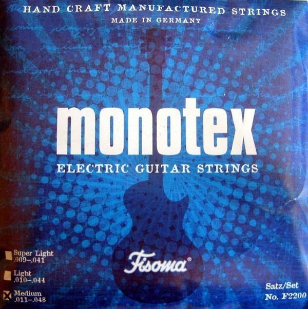 Monotex L E-Gitarren Saiten .010-.044