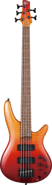Ibanez SR875E-ALG 5-Saiter E-Bass  Abverkaufsteil !!