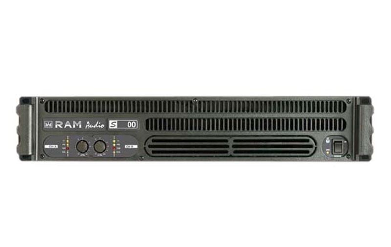 RAM Audio S 6000 Endstufe ca.2x 2000 Watt 2HE Power Amp 3140 Watt Verstärker