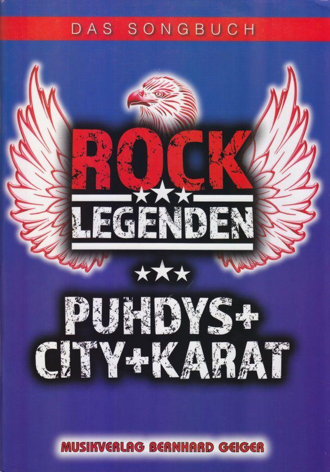 Noten Rock Legenden - Puhdys, City, Karat Geiger Verlag NSB 91