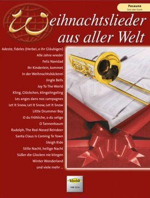 Noten Weihnachtslieder aus aller Welt Solo oder Duett Holzschuh VHR 3516