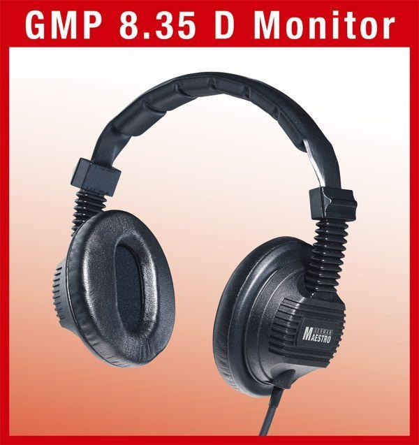 German Maestro GMP 8.35D Monitor Kopfhörer geschlossen 35 Ohm Spiralkabel