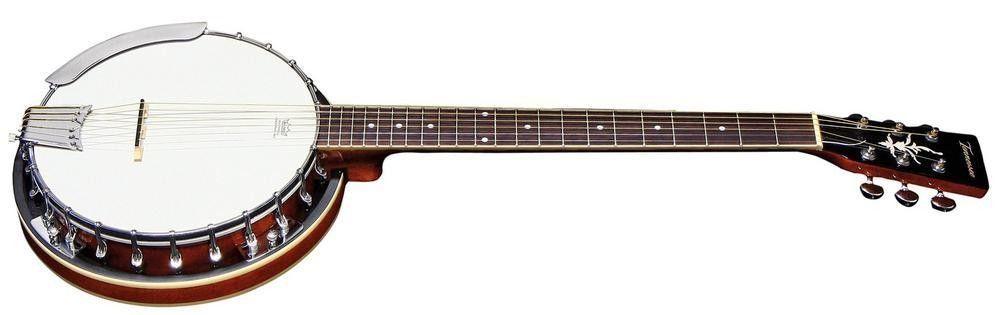 VGS Gitarren Banjo Select, 6-String, incl. Koffer