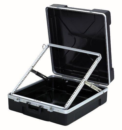 """MHM 19"""" Rack Mixer Koffer mit 12 HE Einbautiefe ABS-FMR Mixercase Mischpultcase"""