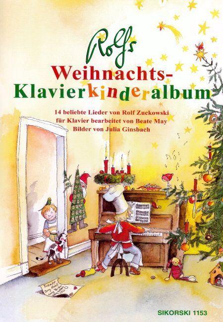 Noten Rolfs Weihnachts Klavier Kinderalbum Sikorski 1153