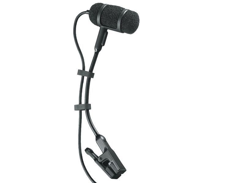 Audio Technica PRO 35 Clip-Mikrofon für Blasinstrumente, Streicher, Drums