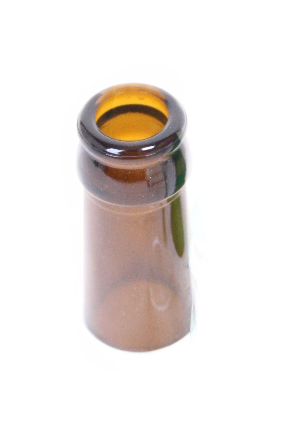 Broke Original Bottleneck in Flaschenhalsoptik Braun
