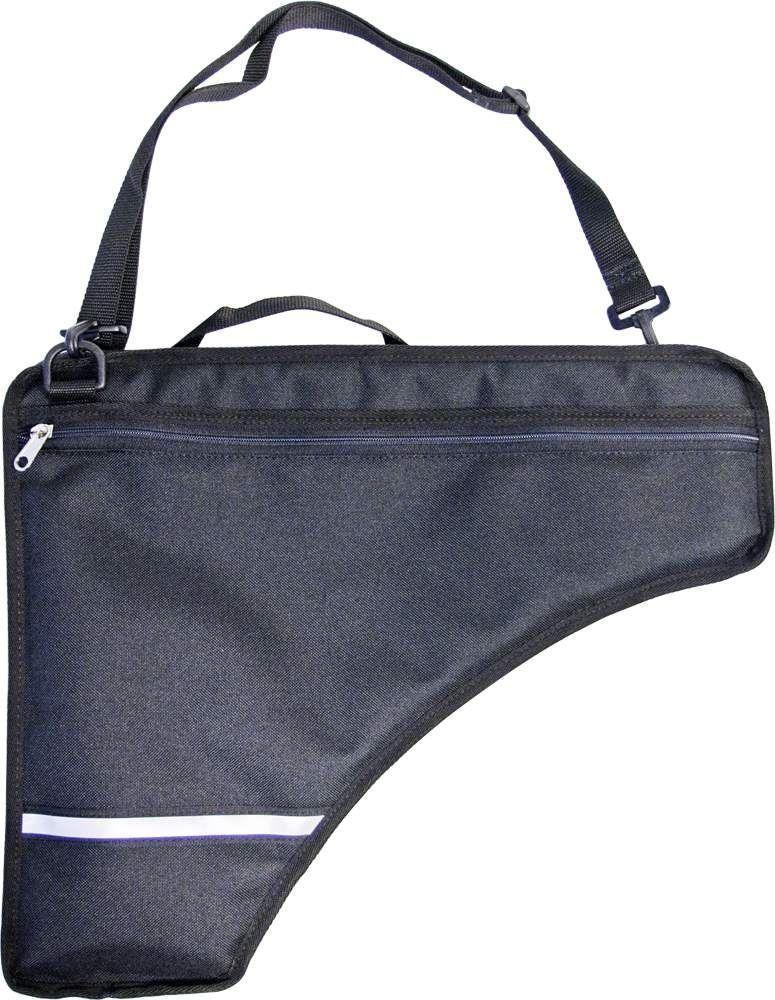 Panflöten-Tasche / Hülle , gefüttert, Etui für Panflöte bis zu 27 Rohre