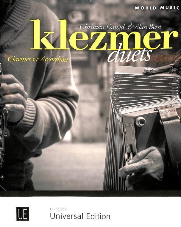 Noten Klezmer Duets für Klarinette und Akkordeon UE36969 Dawid / Bern Alan