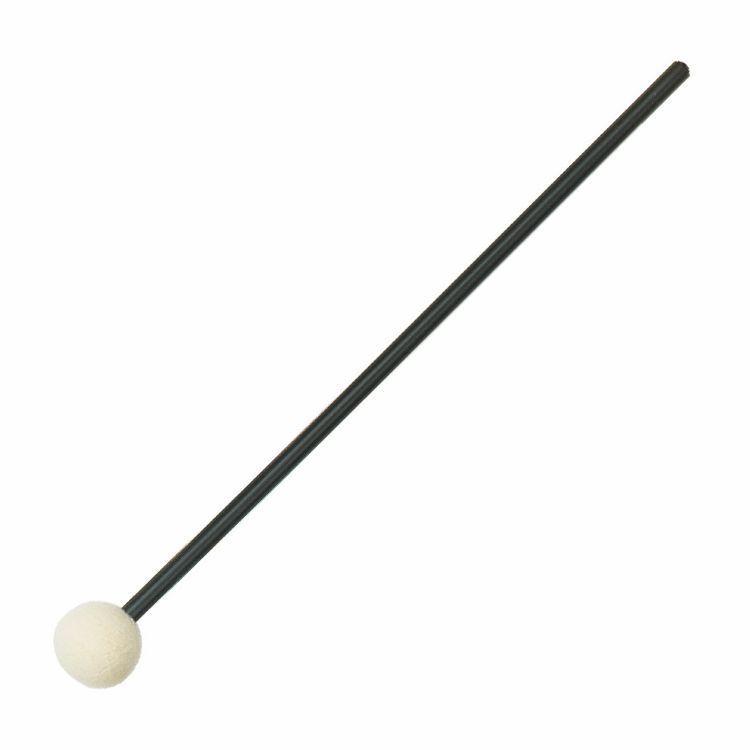 Rohema 61451 Percussion Mallets - Schlägel Plastik + Vollfilz 25mm hart