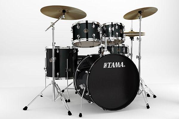 TAMA Rhythm Mate RM50YH6-BK schwarz + Meinl BCS Cymbalset