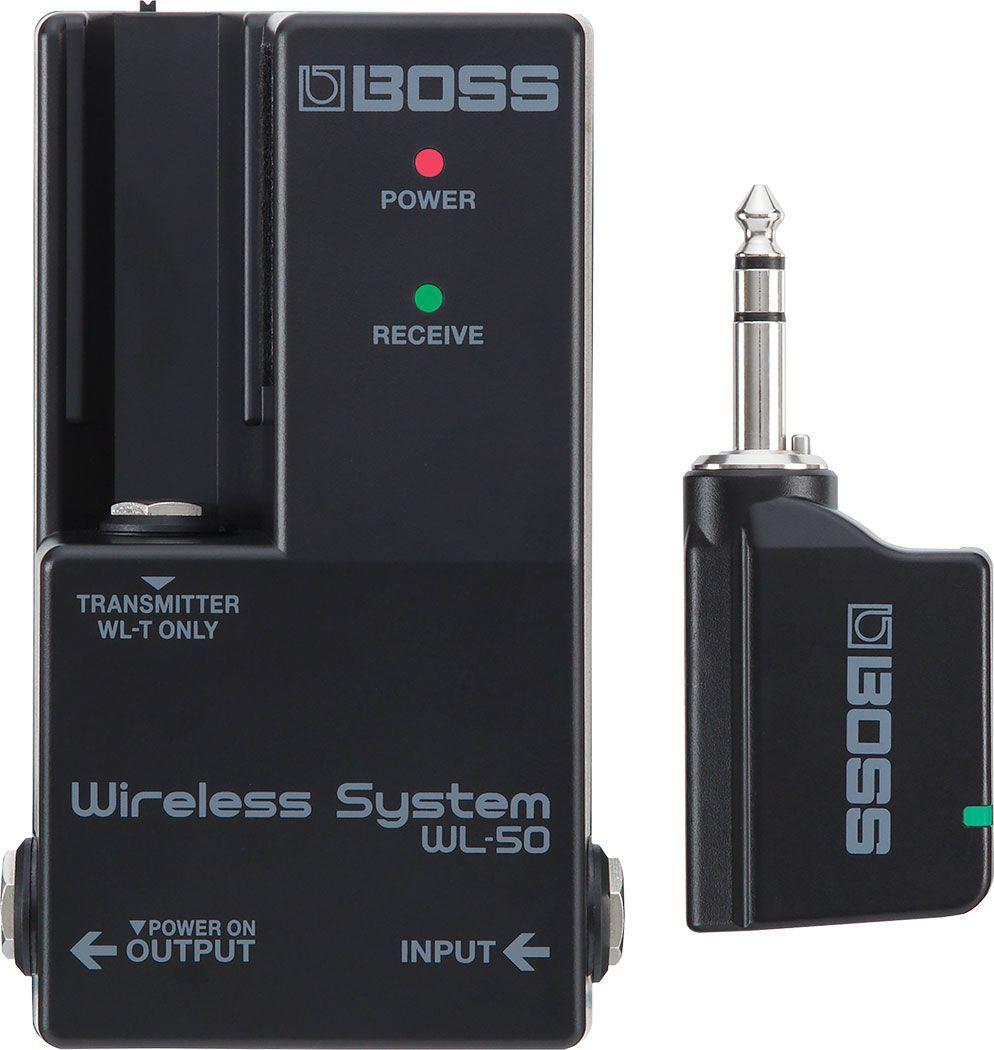 Boss WL-50 Wireless System -kabellose Verbindung für Pedal-Boards