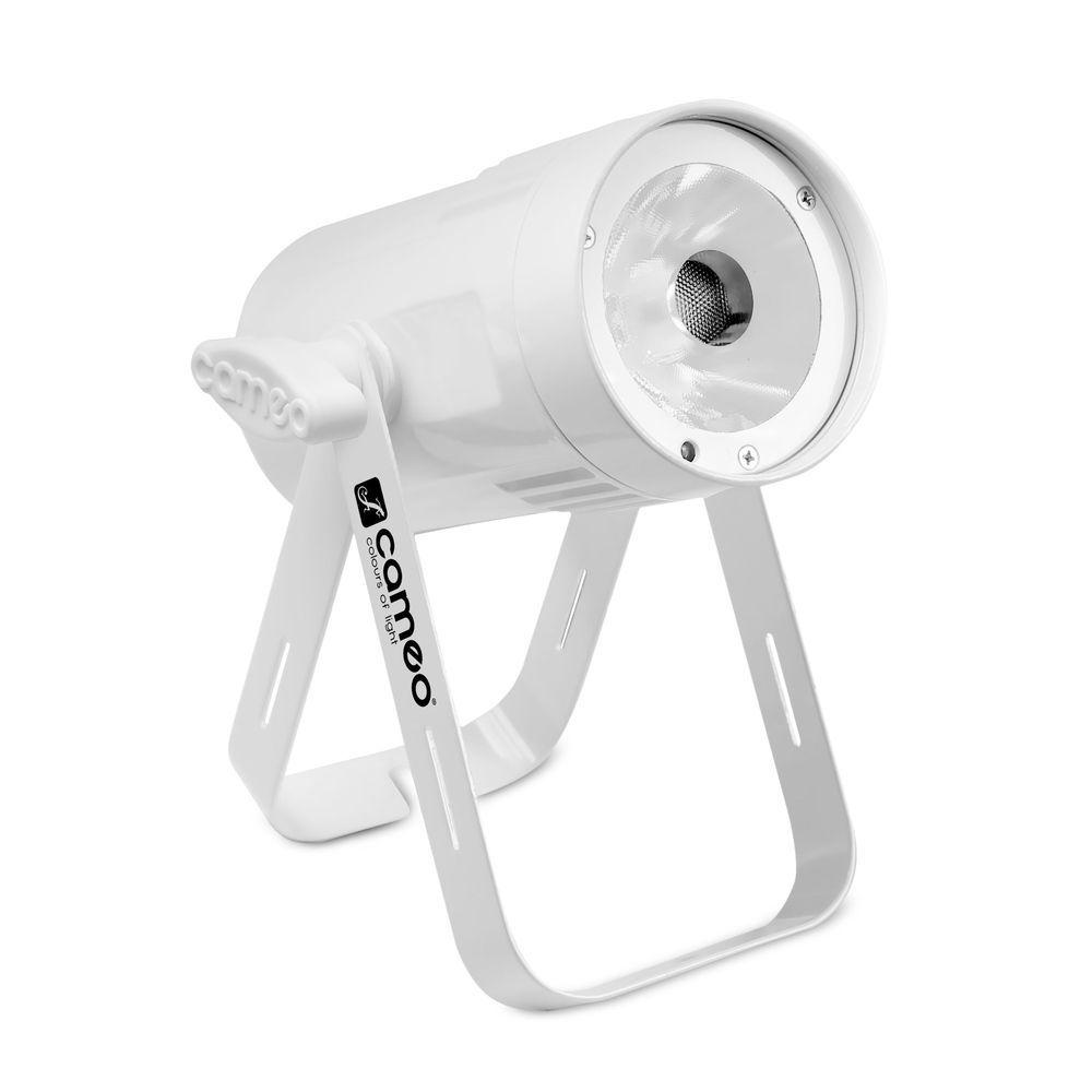 Cameo Q-Spot 15 RGBW WH Pinspot, LED Punktscheinwerfer mit 15W RGBW-LED, weiß